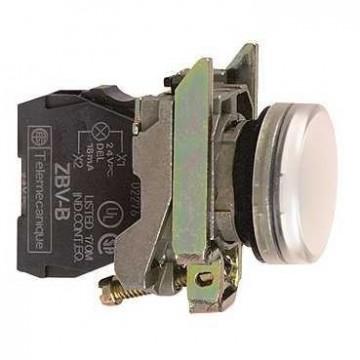 Μπουτ.λυχνία LED άσπρο για λαμπ BA 9s 250V
