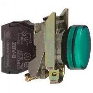 Μπουτ.λυχνία LED πράσ. για λαμπ BA 9s 250V
