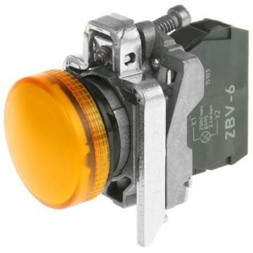 Μπουτ.λυχνία LED κίτινο για λαμπ BA 9s 250V