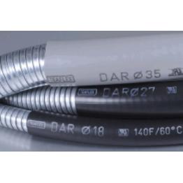 Σωλήνα μεταλλική ανοξείδωτη με επένδυση PVC Φ48mm(Εξωτερικό) - Φ40mm(Εσωτερικό) Γκρι