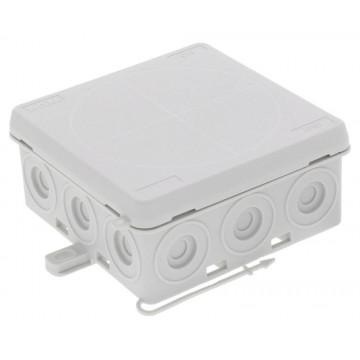 Κουτί στεγανό 86x86x41mm πρεσσαριστό IP55 KA 012 LG