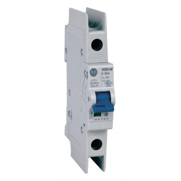 Αυτόματη ασφάλεια θερμομαγνητική 1x20A χαρακτηριστικής D