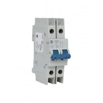 Αυτόματη ασφάλεια θερμομαγνητική 2x10A χαρακτηριστικής D