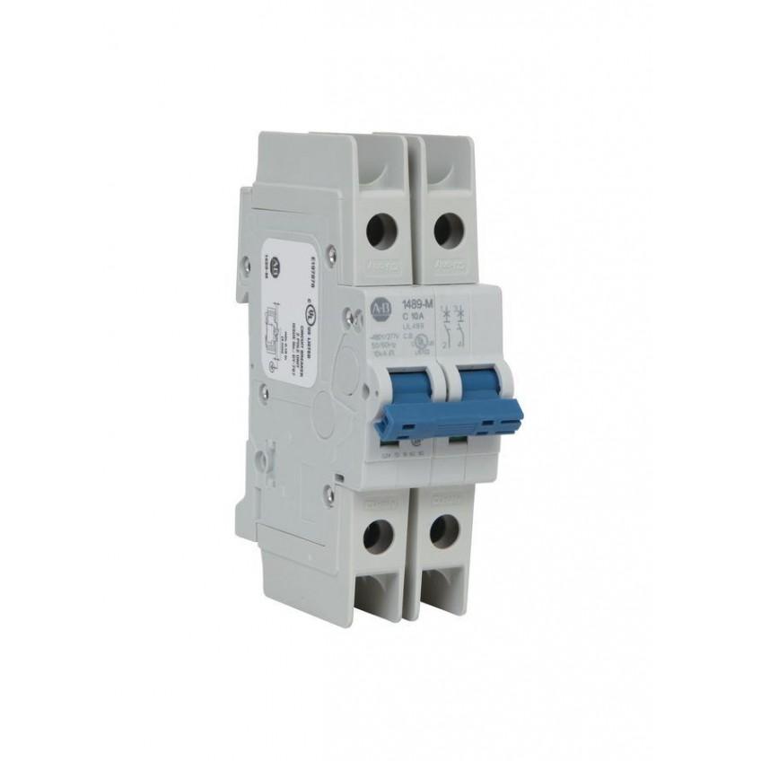 Θερμομαγνητικές Ασφάλειες 2P Χαρακτηριστικής D 1489-M