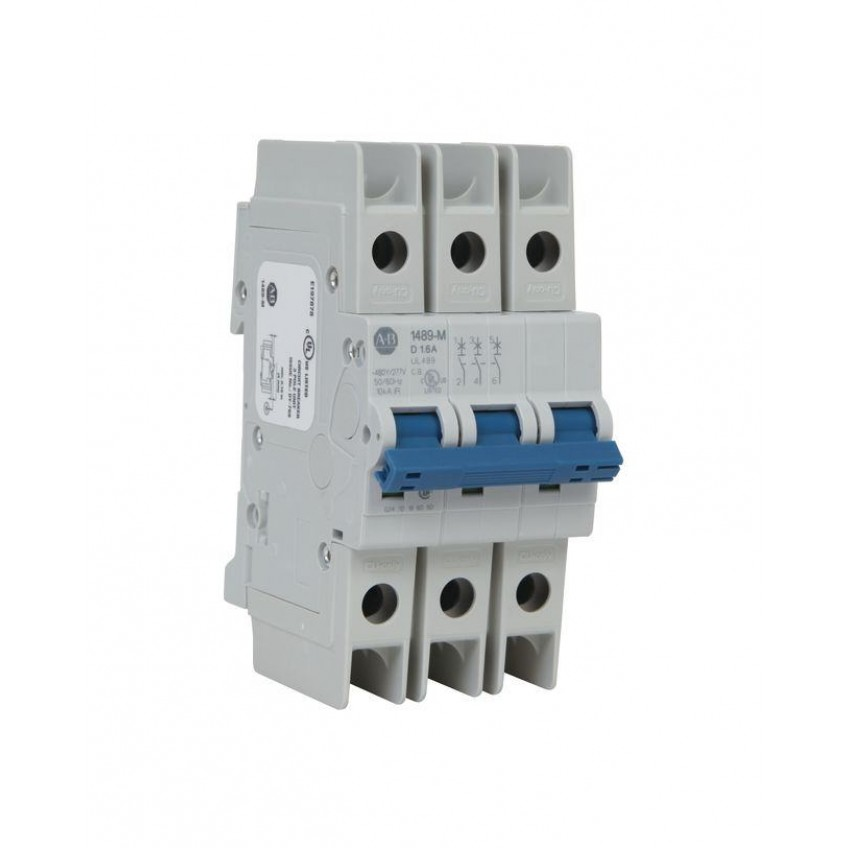 Θερμομαγνητικές Ασφάλειες 3P Χαρακτηριστικής D 1489-M