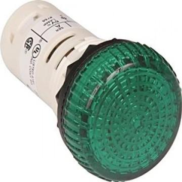 Ενδεικτική λυχνεία πράσινη 240V AC