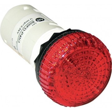 Ενδεικτική λυχνεία κόκκινη 48V AC