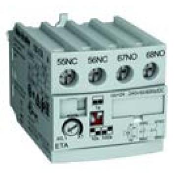 Χρονικό ηλεκτρονικό Off delay 0,1 - 100 sec, για 100-E09…E96